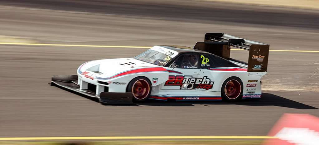 Barton Mawer wins World Time Attack as he flies down the main straight